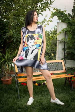 Maieu Oversize White Stripes0