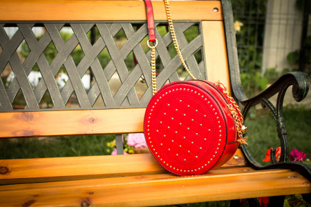 Geanta Crossbody Red Passion0