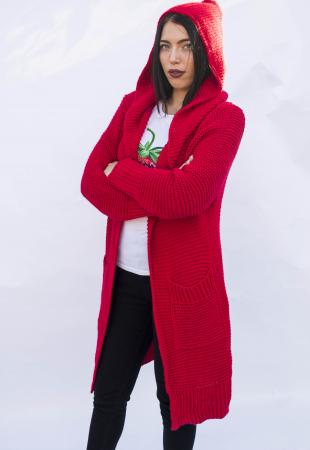 Cardigan Yvona Red0