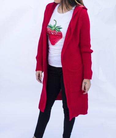 Cardigan Yvona Red5