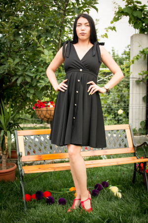 Rochie Emily Black1