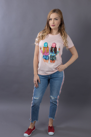 Tricou 3D Girls0