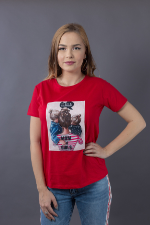 Tricou 3D Mom of Girls3