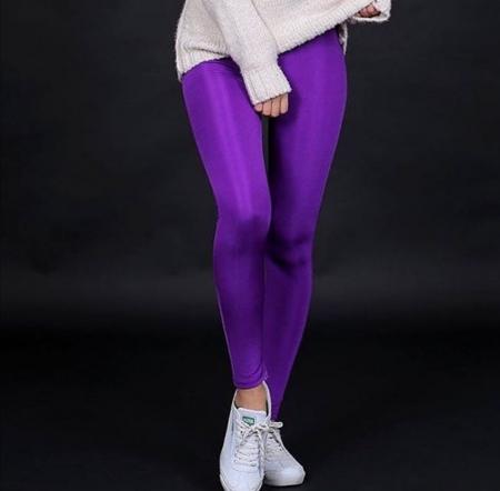 Colanti Lycra Amber Purple0