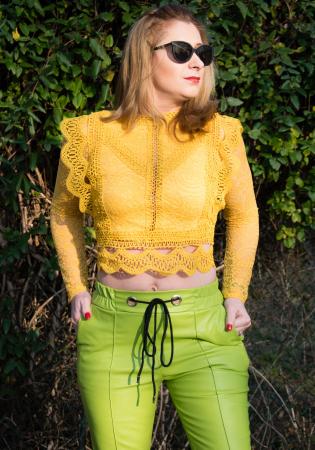 Bluza Brenda Yellow0
