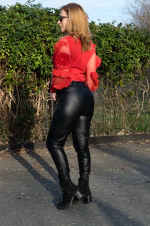Bluza Dhalia Red2