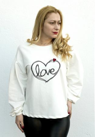 Bluza Love White [1]