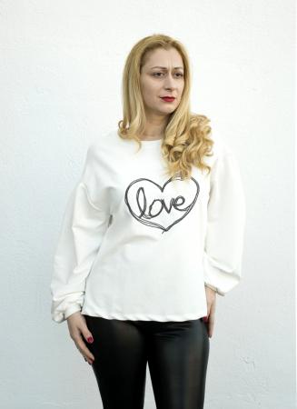 Bluza Love White [0]
