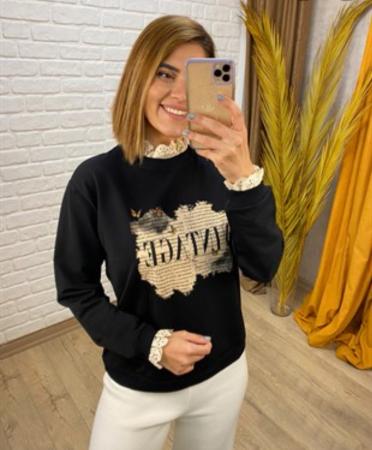 Bluza Vintage Black0
