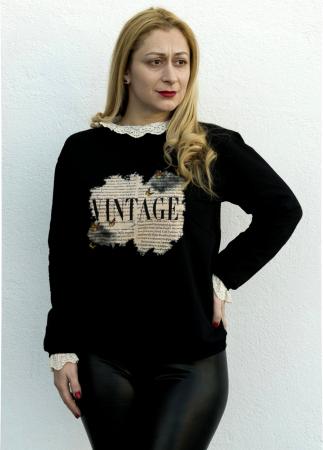 Bluza Vintage Black [2]