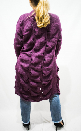 Cardigan Emma Purple3