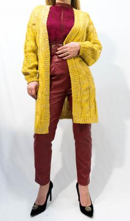 Cardigan Olivia Yellow2