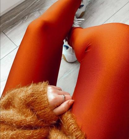 Colanti Lycra Extrafin Jessica Orange4