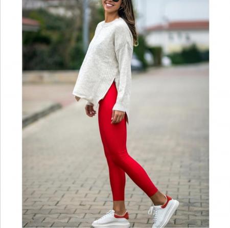 Colanti Lycra Amber Red0