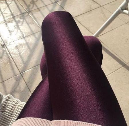 Colanti Lycra Brenda Dark Purple0