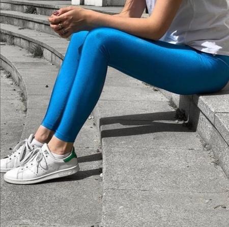 Colanti Lycra Jasmine Blue0