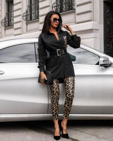 Compleu Anda Black Leopard [0]