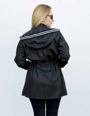 Jacheta Eco Piele Karin Black2