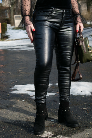 Pantaloni Skinny Push Up1