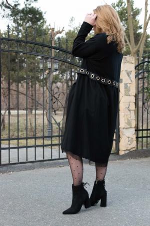 Rochie Armina Black3