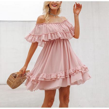 Rochie Misha Sweet Pink1