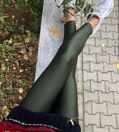 Colanti Lycra Extrafin Jessica Olive0