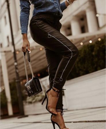 Pantaloni Debbie Black [0]