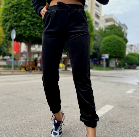 Pantaloni Ella Black [0]