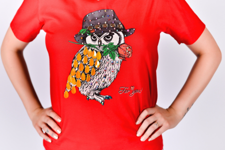 Tricou Fancy Owl1