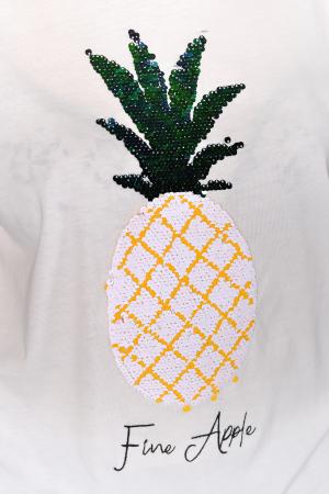 Tricou Fine Apple White [3]