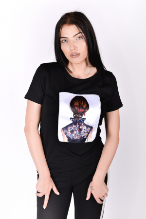Tricou Lady in Black1
