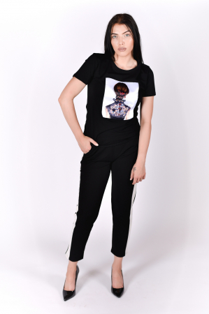 Tricou Lady in Black2