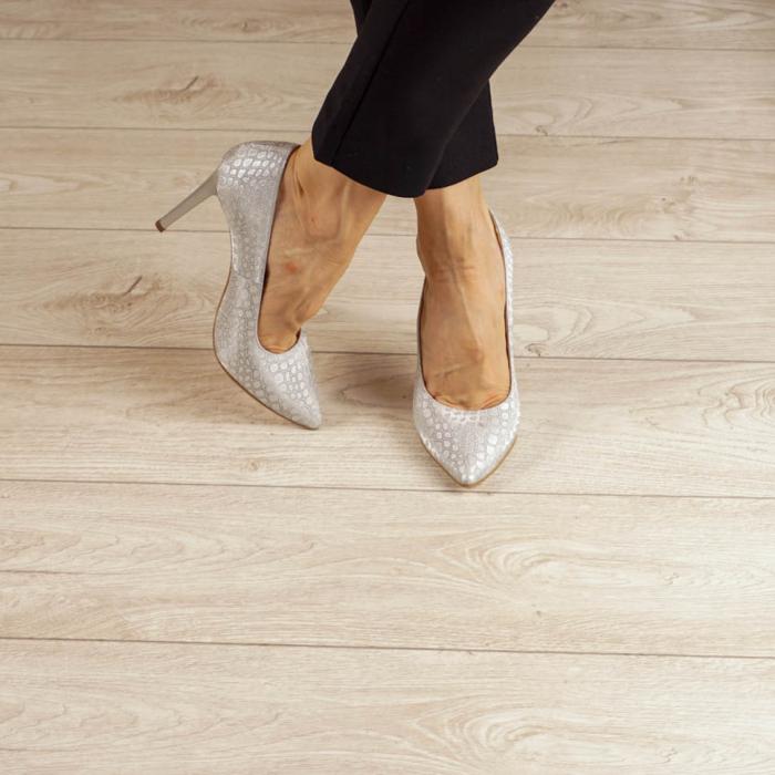 Pantofi dama din piele naturala cu imprimeu MSPD190-2-20 [1]