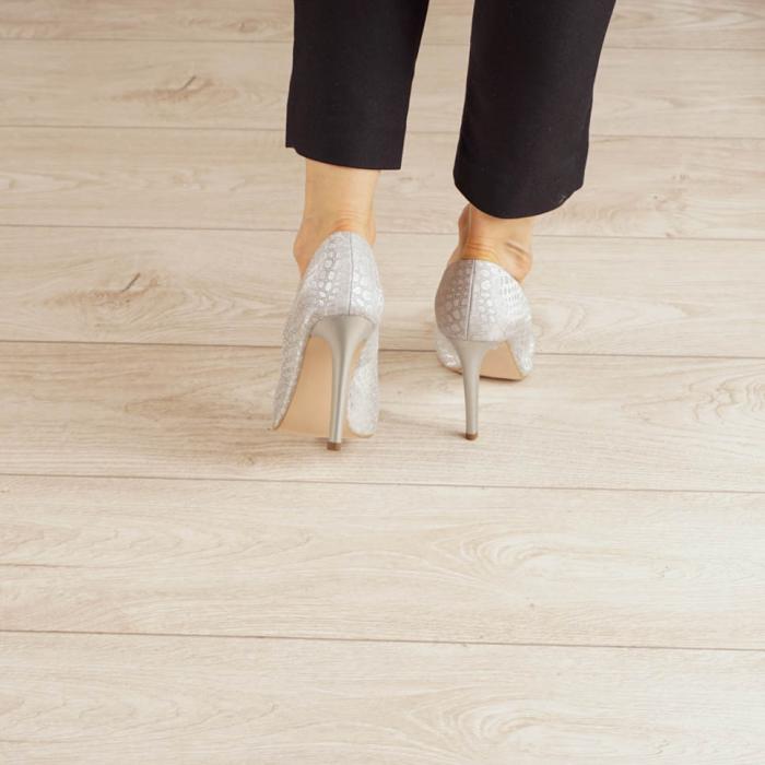 Pantofi dama din piele naturala cu imprimeu MSPD190-2-20 [3]