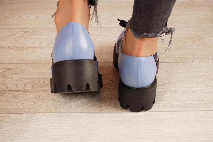 Pantofi dama din piele naturala MSPD59920-20 [4]