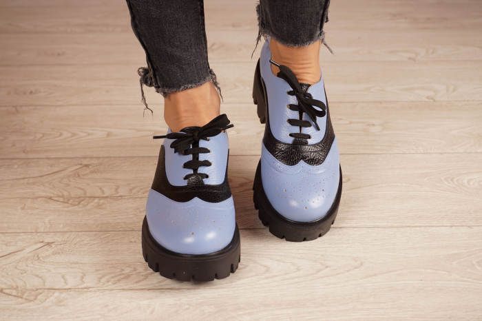 Pantofi dama din piele naturala MSPD59920-20 [3]