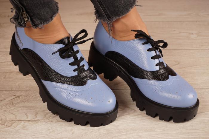 Pantofi dama din piele naturala MSPD59920-20 [0]