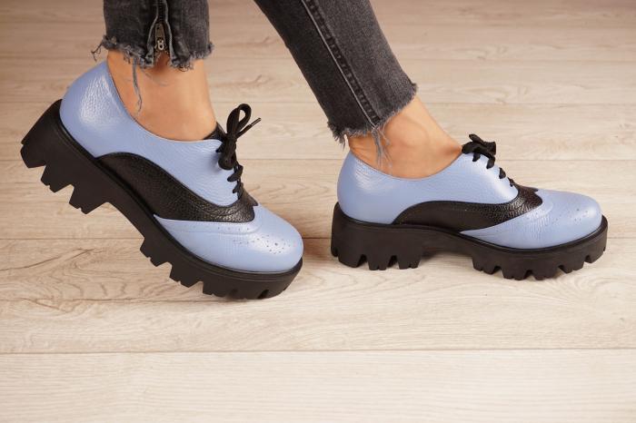Pantofi dama din piele naturala MSPD59920-20 [2]
