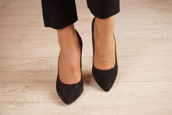 Pantofi dama din piele naturala cu imprimeu MSPD190-35-20 [2]