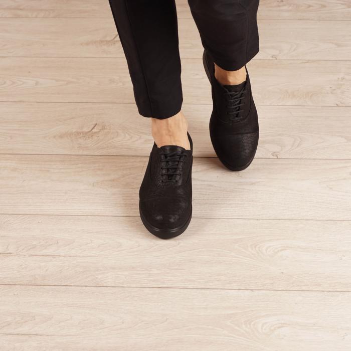 Pantofi dama din piele naturala croco MSPD61320-20 1