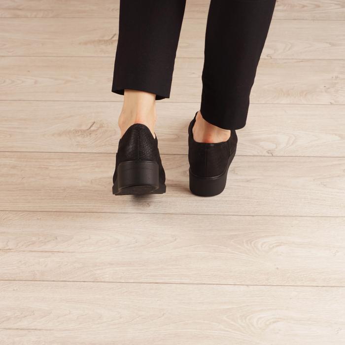 Pantofi dama din piele naturala croco MSPD61320-20 2