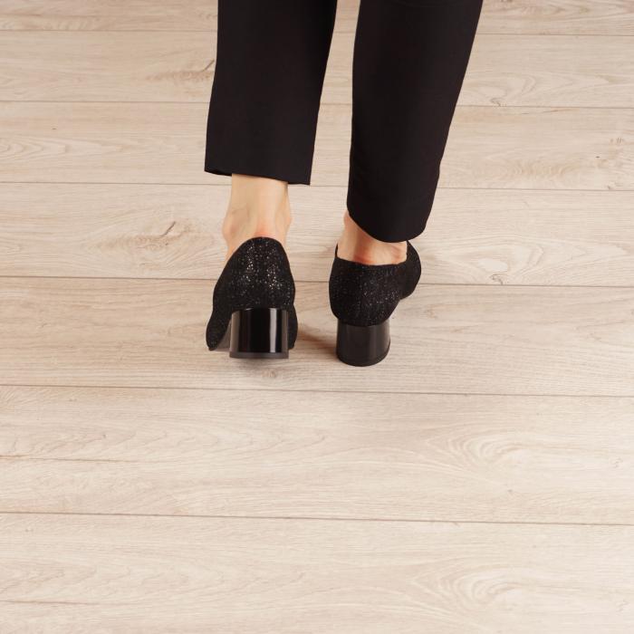 Pantofi dama din piele naturala cu imprimeu MSPD1861-20 [3]
