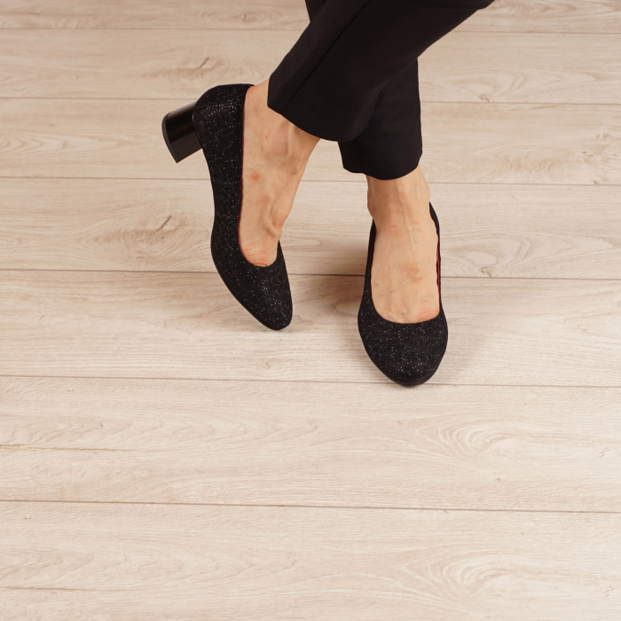Pantofi dama din piele naturala cu imprimeu MSPD1861-20 [1]