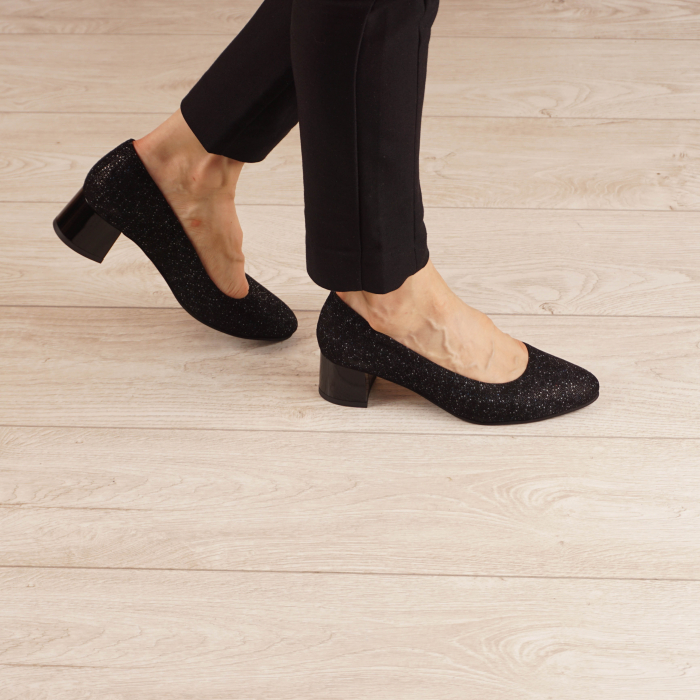 Pantofi dama din piele naturala cu imprimeu MSPD1861-20 [0]
