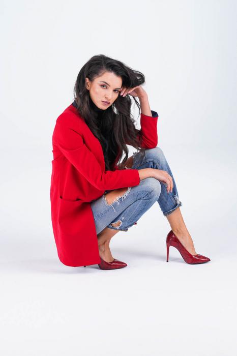 Pantofi dama din piele naturala cu imprimeu MSPD190-28-20 [4]