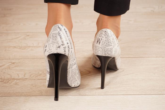 Pantofi dama din piele naturala cu imprimeu MSPD190-37-20 [3]