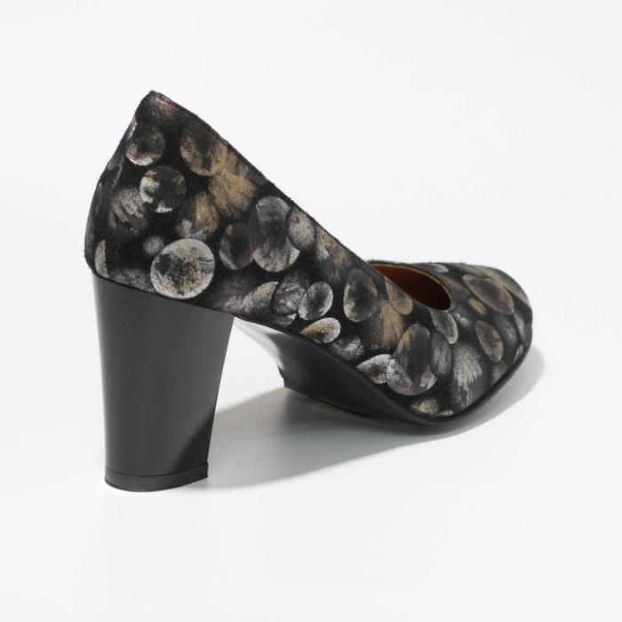 Pantofi dama din piele naturala cu imprimeu MSPD52017-6-19 [1]