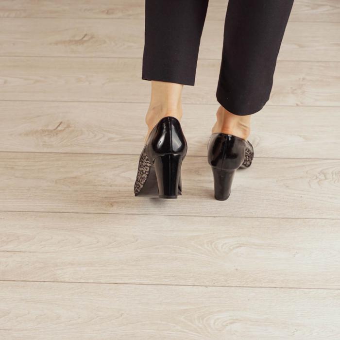 Pantofi dama din piele naturala cu imprimeu MSPD52020-20 [3]