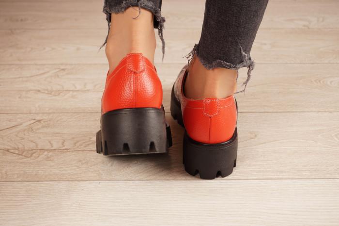 Pantofi dama din piele naturala cu imprimeu MSPD53017-16-20 [4]