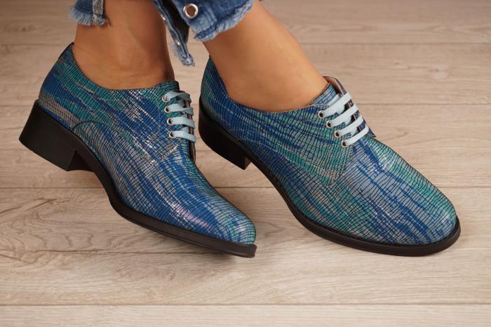 Pantofi dama din piele naturala cu imprimeu MSPD53017-5-20 [1]
